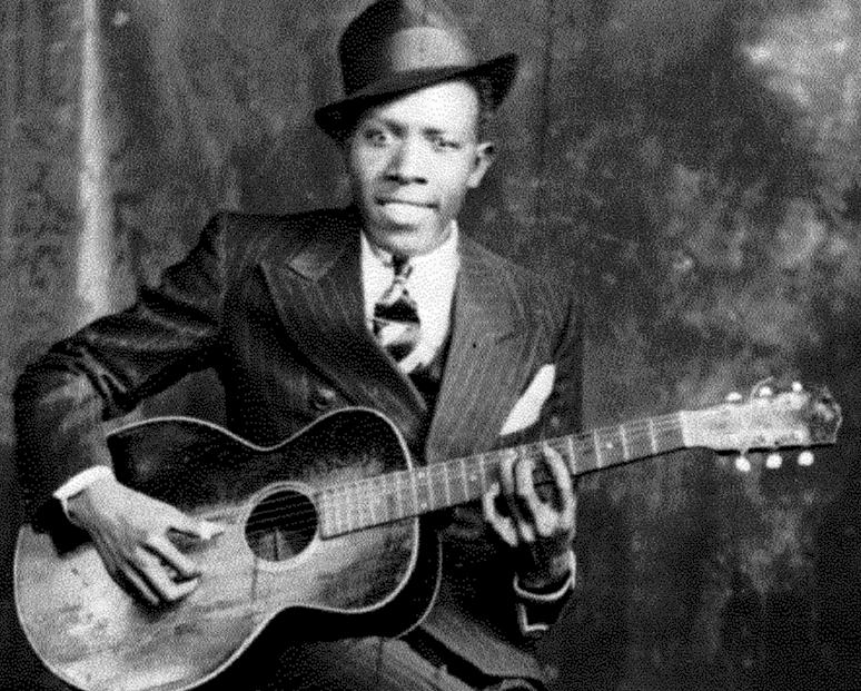 Robert Johnson & his 1929 Gibson L-1